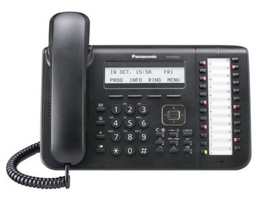 Panasonic KX-DT543 digitalni sistemski telefon-101