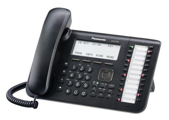 Panasonic KX-DT546 digitalni sistemski telefon-104
