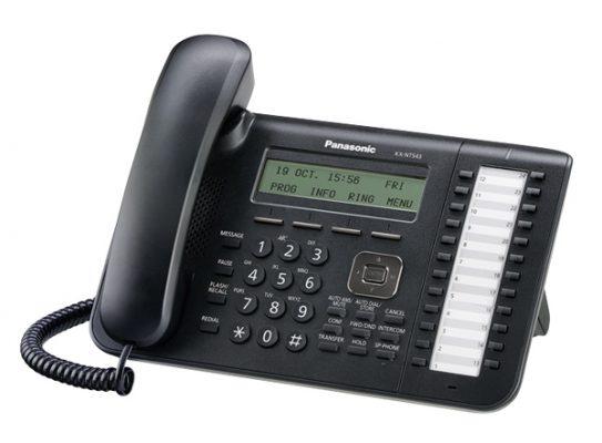 Panasonic KX-NT543 sistemski IP telefon-0