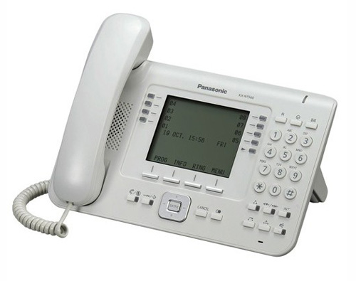 Panasonic KX-NT560 sistemski IP telefon-419